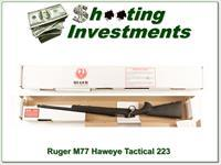 Ruger 77 Tactical 223 Rem Exc Cond in box!