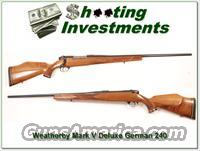 Weatherby Mark V Dleuxe German 240 Wthy Mag