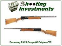 Browning A5 20 Gauge 68 Belgium honey blond VR!