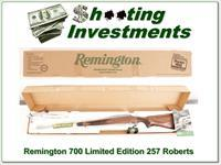 Remington Model 700 CDL SF Limited Edition 257 Roberts