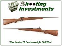 Winchester 70 Featherweight New Haven 300 Win as new!