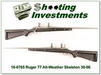 "Ruger Mark II Stainless ""Skeleton"" 30-06 Win Exc Cond"
