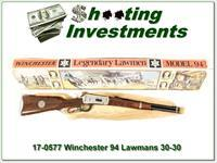 Winchester 94 carbine Legendary Lawman 30-30