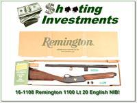 Remington 1100 LT 20 English Stock Sam Walton NIB!