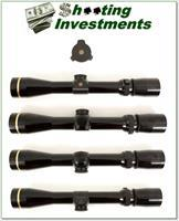 Leupold Vari-X III scope 2.5-8 gloss Exc Cond