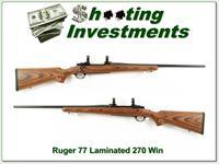 Ruger 77 270 Winchester Laminated stock