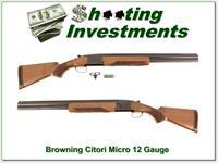 Browning Citori Micro 12 Gauge as new!
