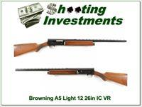 Browning A5 Light 12 56 Belgium 26in IC VR!
