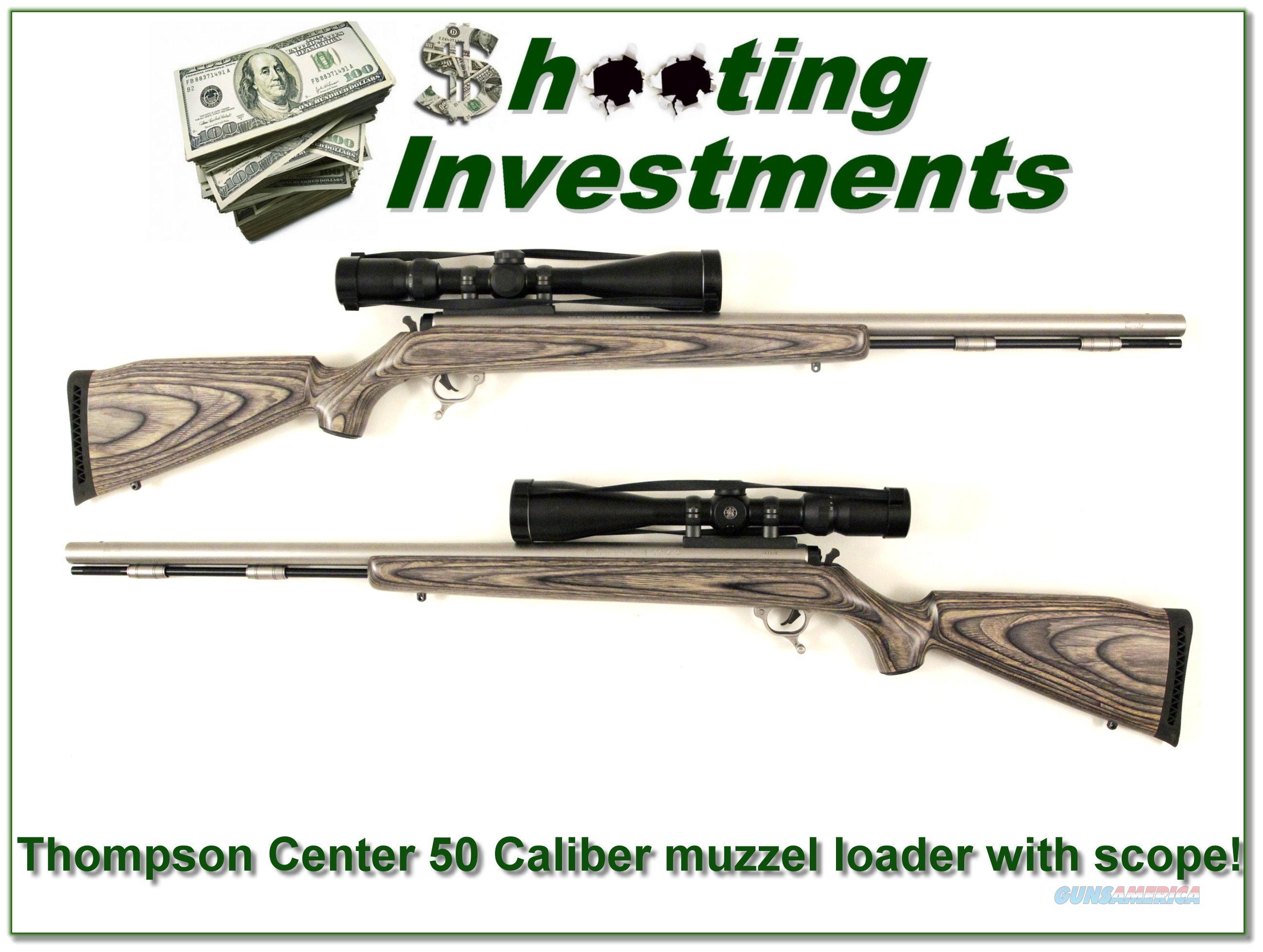 Thompson Center Omega X7 Black Powder Rifle 50 Caliber