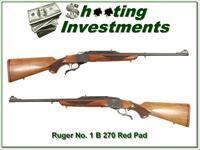 Ruger No. 1 A Light Sporter 270 WIN Red Pad Exc Co