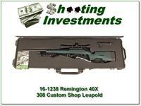 Remington 40-X Sniper rifle set 308 Win Leupold Mark 3