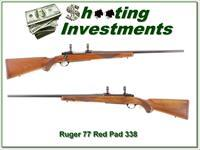 Ruger 77 Tang Safey Red Pad 300 Win Magnum