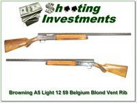 Browning A5 Light 12 59 Belgium Blond VR