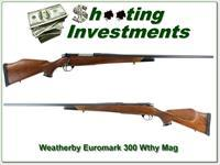 Weatherby Mark V Euromark 300 Wthy 26in as new!