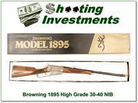 Browning 1895 High Grade 3-50 Krag NIB!