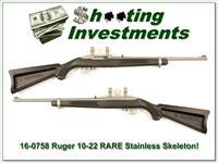Ruger 10-22 Rare Stainless All-Weather Skeleton!