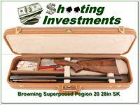 Browning Superposed 20 Gauge Pigeon 28in Skeet
