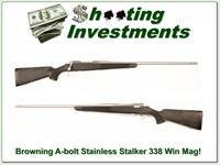 Browning A-bolt Stainless Stalker 338 Win Mag!