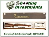 Browning Custom Trophy A-bolt NIB 300 Win Mag!