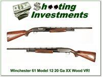 Winchester Model 12 20 1961 XX Wood!