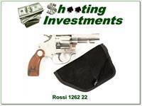 Hard to find Rossi 22LR Revolver 1262 Nickel