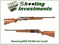 Browning BAR 270 Winchester