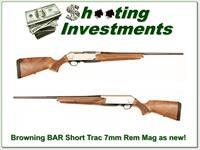 Browning BAR Longtrac Long Trac Walnut 7mm Rem Mag as new!