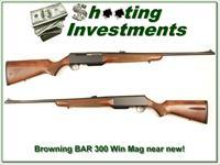 Browning BAR 300 Winchester Mag as new