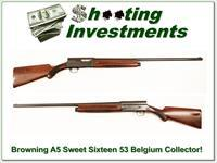 Browning A5 Sweet Sixteen 53 Belgium Collector!