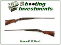Ithaca 4E SxS double barrel 12 Gauge