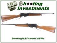 Browning BLR 243 early machined steel receiver