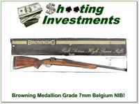 Browning Medallion Grade Belgium 7mm ANIB!