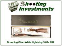 Browning Citori White Lightning 16 Gauge 28in NIB