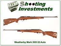 Weatherby Mark XXII 22 Auto!