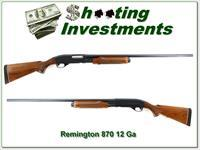 Remington 870 Wingmaster 30in full barrel