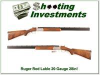Ruger Red Label 20 Gauge 28in tubes Exc Cond!