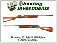 Browning A5 Light 12 58 Belgium collector!