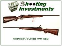 Winchester Model 70 Coyote 7mm WSM Exc Cond