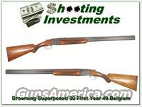 Browning Superposed 1952 20 Gauge!