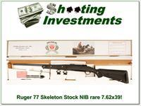 Ruger 77 Synthetic Skeleton Rare 7.62x39 unfired in box!