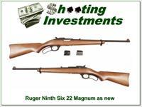 Ruger Model 96 22 Magnum Collector Condition 3 Magazines