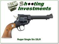 "Ruger Single Six ""Star"" New Model Revolver 5.5"