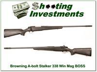 Browning A-bolt Stalker 338 Win Mag with BOSS