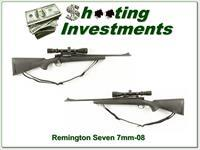 Remington Model Seven Youth in 7mm-08 with Simmons scope