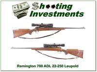 Remington ADL 22-250 w/ Leupold 3-9 VX-2