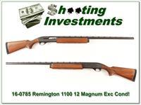 Remington 1100 Magnum 12 Vent Rib Pressed Checkering