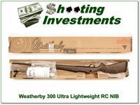 Weatherby Mark V Ultra-lightweight RC 300 Wthy mag NEW!
