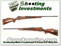 Weatherby Mark V Lazermark 5 Panel 270 26in as new!