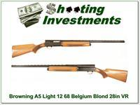 Browning A5 Light 12 68 Belgium Blond VR