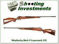 Weatherby Mark V Lazermark 5 panel 378!